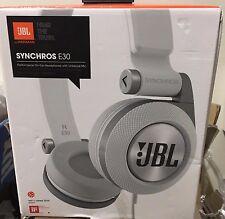 JBL Synchros E30  Performance On-ear Headphones With Universal Mic White