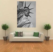 STATUA della Libertà NYC USA NUOVO GIGANTE POSTER WALL ART PRINT PICTURE G203