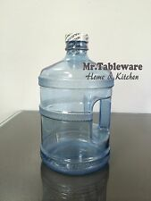 Made in USA - 64oz Plastic Polycarbonate Water Bottle (1/2 gallon)(clear)