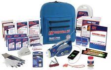 New Quake Kare 2 Person Ultimate Deluxe Backpack Survival Kit