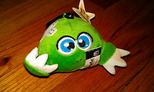 McDonalds Happy Meal toy of Neopets Green Kiko plush toy 2005 Petpet symbol cute