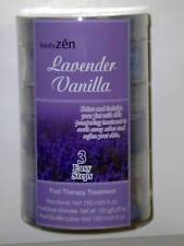Soothing 3 Step Foot Therapy Treament Lavender Vanilla