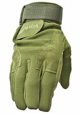 Green Special Ops Tactical Operator Gloves Large SAS SWAT Army