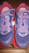 Girls purple Puma sneakers sz 2 1/2