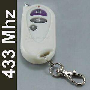 Télécommande alarme 3 boutons canaux 433Mhz 433 RF