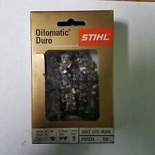 "STIHL 18"" STIHL Chainsaw Chain 26RD3 68 CARBIDE .063 Gauge fits MS250-251- NEW"
