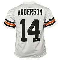 Ken Anderson Signed Cincinnati Pro White Football Jersey (JSA)