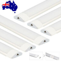 6x 36W 4FT = 1200mm LED Linkable Batten Tube Light Wall Mount Ceiling Panel Lamp