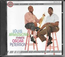 CD COMPIL 16 TITRES--LOUIS ARMSTRONG MEETS OSCAR PETERSON IN 1957