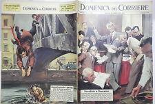LA DOMENICA DEL CORRIERE 13 gennaio 1963 Festival di Sanremo Naviglio Ande di e