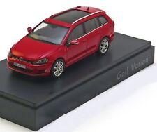 VW GOLF VII 2013 VARIANT RED SPARK 5G9.099.300.Y3D 1/43 VOLKSWAGEN ROUGE ROSSO