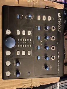 PreSonus Monitor Station V2 Active Studio Monitor Control Center Desktop