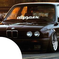 dapper ✔ XL ✔ Auto Aufkleber ✔ Frontscheibenaufkleber ✔ Sticker ✔ illest ✔ dub ✔