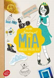 Journal de Mia 2 - Premiers pas.Meg CABOT.Livre de poche SF25B