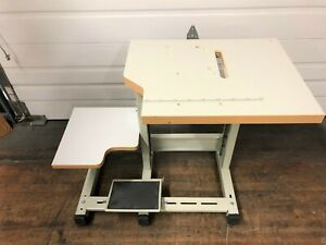 SEWLINE NEW SPECIAL   3 LEG TABLE SET FOR CYLINDER BED INDUSTRIAL SEWING MACHINE
