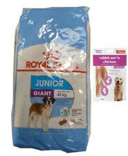 15kg Royal Canin  Giant Junior +  80g Fleischsnacks