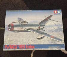 Tamiya 61043 1:48 Mig 15 Bis Airplane Model Kit *