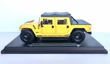 Maisto Hummer H1 Softtop Yellow 1:18 Scale Diecast