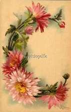 "Vintage Victorian Klein Floral Letter Initial ""C""  2"" x 3"" Fridge Magnet"