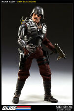 "Sideshow Collectibles 1/6 Scale 12"" GI Joe Mercenary Major Bludd Action Figure"