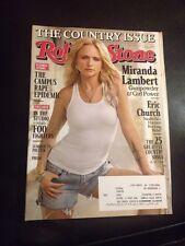 Rolling Stone Magazine 1211 June 19 2014 Miranda Lambert , The Country Issue