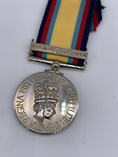 More details for museum quality replica gulf medal, british campaign medal