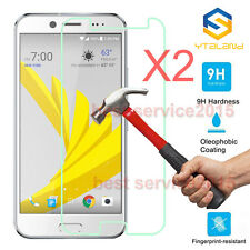 2Pcs 9H+ Premium Tempered Glass Film Screen Protector For HTC Bolt / HTC 10 Evo
