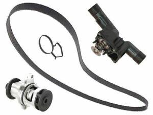 BMW 4cyl 1996-1999 Graf Water Pump Metal+Belt +95c Thermostat +Gasket E36