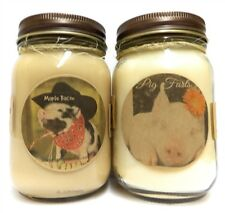 Combo Pig Farts & Maple Bacon Set of 2 16oz WHOLESALE SCENTED Soy Candles