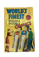"""1966 DC """"World's Finest Double Double Comics"""" #1 Book National Periodical RARe"""