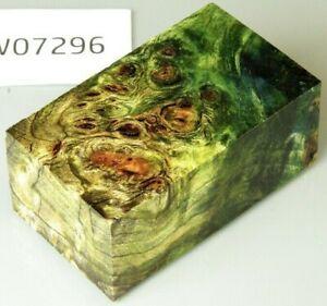 Pappel Maser bi-color stabilisiert | 86x50x35 | puq stabwood | poplar burl 7296