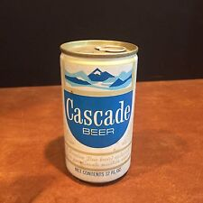 Vintage Advertising Cascade Pull Tab Beer Can Portland, Oregon c. 1970s