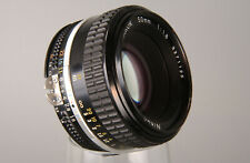 # NIKKOR 50 f/ 1,8 AI-S Lichtriese Standardobjektiv Nikon AIS TOP !!! #