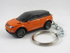 2011 2012 2013 2014 RANGE ROVER EVOQUE SUV 4X4 Orange Key FOB Keyring Keychain