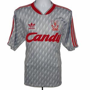 1989-1991 Liverpool Away Football Shirt, Adidas, Large (Very Good Condition)