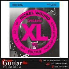 D'Addario EXL170S Bass Guitar Strings Regular Light 45-100 Daddario New