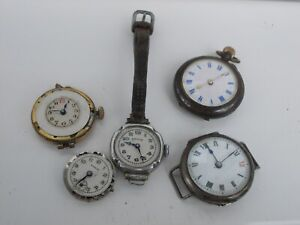 Vintage Watches For Repair Or Spares