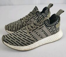 ca69bde44 Men s Adidas NMD R2 PK BA7198 Primeknit Trace Cargo Olive Green SZ 8.5  Boost DS