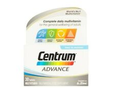 CENTRUM ADVANCE Multivitamin Tablets, 4 x Pack of 30 (120 tablets in total)