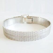 Armband Silber 835er rhodiniert Armschmuck Armreif