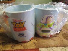 Toy Story Buzz Lightyear Mug Ocean Spray Mail-away exclusive 1996 set of 2, New!