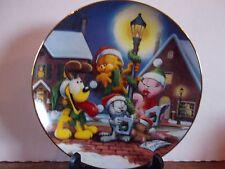 "The Danbury Mint - Garfield's Christmas -""Sounds of Christmas"" 8"" Plate"