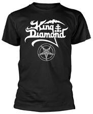 King Diamond 'Logo' (Black) T-Shirt - NEW & OFFICIAL!