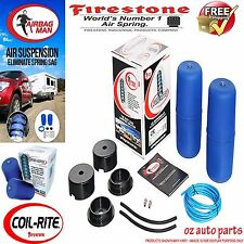 HOLDEN CAPRICE SUPER LOW FIRESTONE COIL AIR BAG SUSPENSION SPRING ASSIST KIT