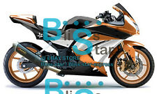 Orange Fairings + Tank Cover Fit Kawasaki Ninja 250R EX250 2010 2008-2012 20 A2