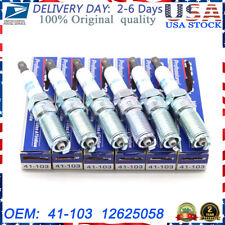 6X 41-103 12625058 AC DELCO NEW IRIDIUM SPARK PLUGS FOR CHEVY BUICK GMC Pontiac