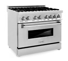 """ZLINE 36"""" Dual Fuel Range Gas Stove and Electric Oven Stainless RA36 photo"""