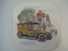 Vintage Placemat Classic Cars Rolls Royce (1911 - Outside George Hotel Amesbury)