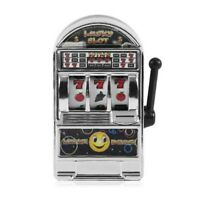 Mini Casino Jackpot Fruit Slot Machine Money Box Game Toy For Kids Adult De Z8O2