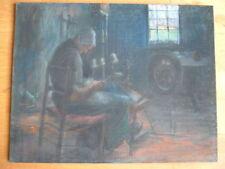 Künstlerische Malerei von 1800-1899 auf Papier als Original der Zeit Pastell -